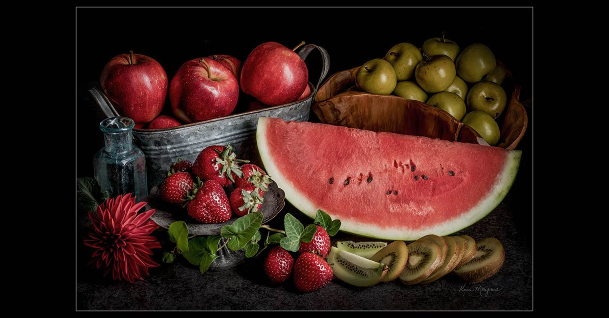 """Fruit Harvest"" Fine Art Food Photography"