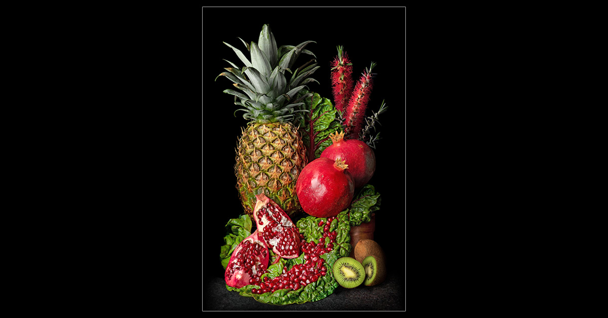 Pineapple and Pomegranate