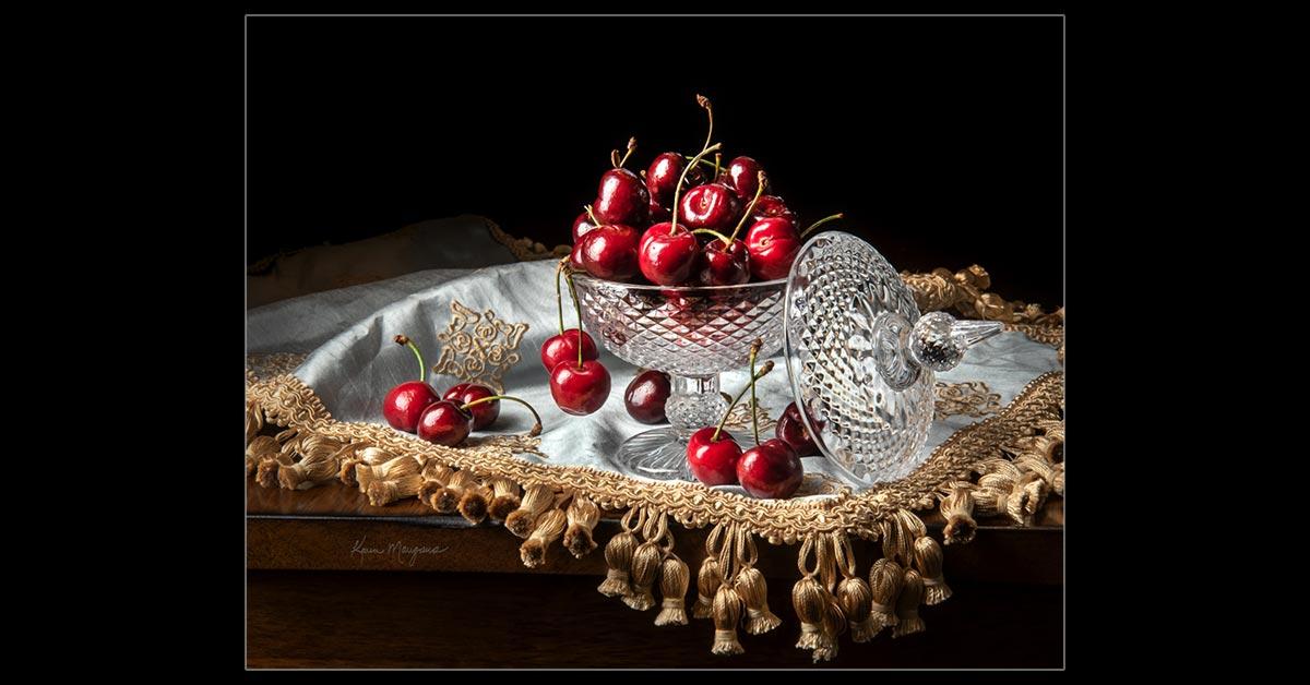 Cherries In A Sugar Bowl