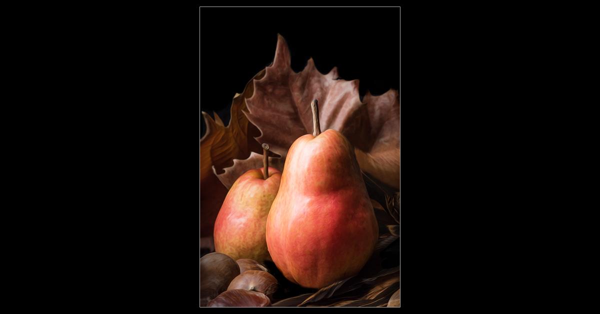 Pear Portrait